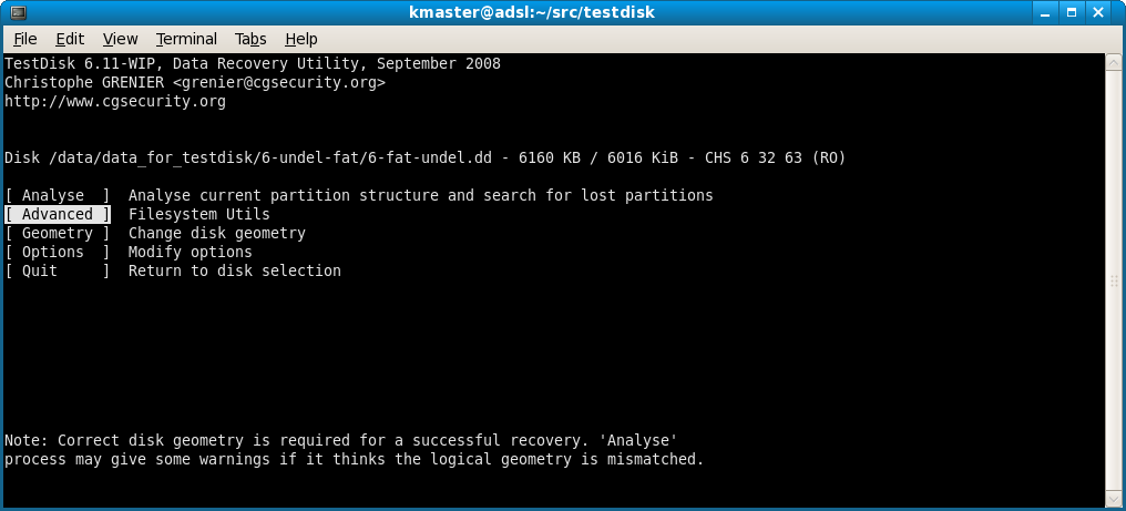 testdisk 32 bits
